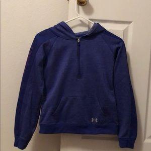 under armour quarter zip hoodie